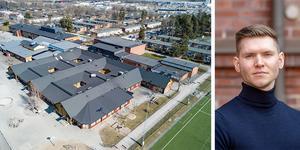Markus Allard, partiledare för Örebropartiet, vill stänga ned Vivallaskolan.