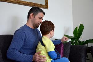 Goran Suleiman undrar varför bara armbågen röntgades vid första tillfället.