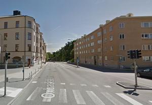 Så här ser området ut idag. Bilden är hämtad från Google maps.