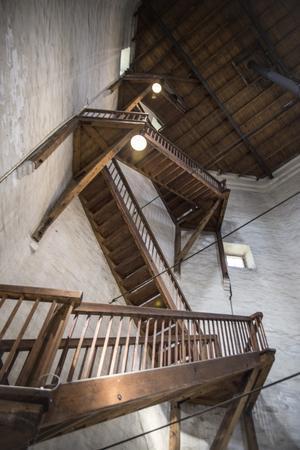 Inifrån gamla vattentornet.