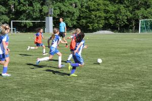 16 tjejer kom på första träningen 2015. Nu har Nynäshamns IF:s flicksektion totalt 60 aktiva spelare.