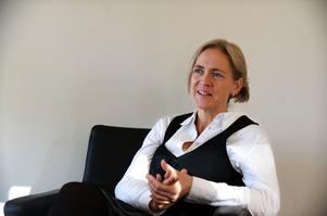 Pernilla Wigren har varit vd för Kopparstaden i åtta år. Arkivbild: Kjell Jansson.