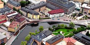 Det finns så mycket i Faluns historia att lyfta fram och visa upp - utveckla det som är unikt för Falun och bygg på stadens historia med anor från 1600-talet, skriver Ubbe. Foto: Johan Solum