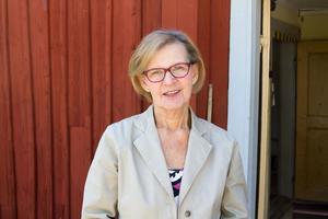 Linnéa Landerstedt, ordförande i Karbennings hembygdsförening,