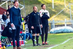 Christer Persson, till höger, är ny manager i Jönköpings Södra.
