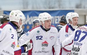 Bakläxa för Voronchikin efter matchstraffet mot Gripen Trollhättan.