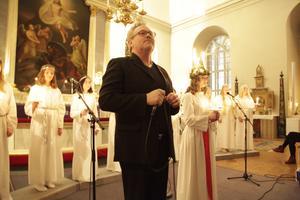 Åke Henriksson sjöng bland annat Halleluja.