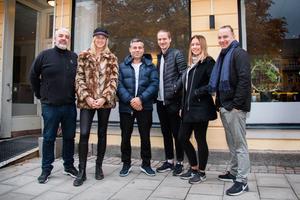 George Mourad, Hanna Lindmark, Resul Yesil, Kalle Hellstrand,  Sofie Andersson och Niklas Hellstrand fortsätter samarbetet efter Oktoberfesten.
