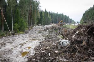 Elva miljoner kommer de nya vattenledningarna mellan Jularbo och Dicka.