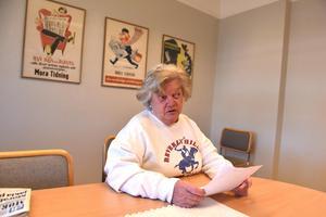 Marianne berättar för tidningen om situationen med Tullverket och Postnord.