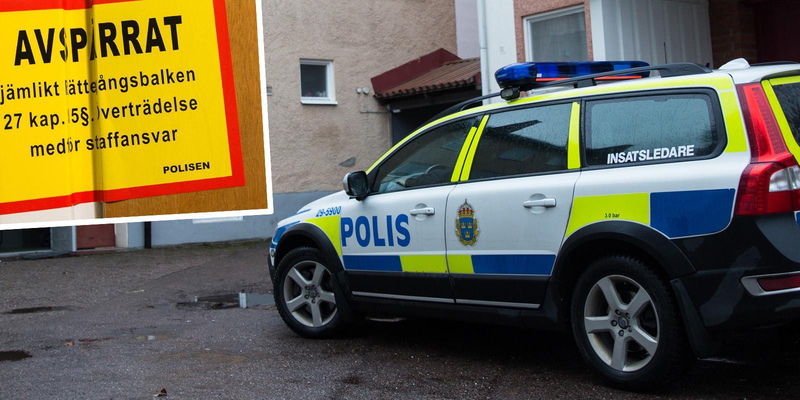 Person hittades död i Krylbo – polisen misstänker inte längre att något brott har begåtts