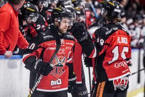 Lagkaptenen Jonas Lindström levererade även i en ny och mer defensiv roll.