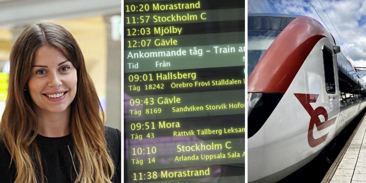 """Tätare tågtrafik mellan Rättvik och Borlänge: """"Målet är att skapa timmestrafik"""""""