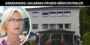 Christin Elofsson-Arons är verksamhetschef hos Unicare i Borlänge, som är Dalarnas mest lönsamma privata vårdcentral. Foto: Mikael Hellsten/Kenneth Westerlund
