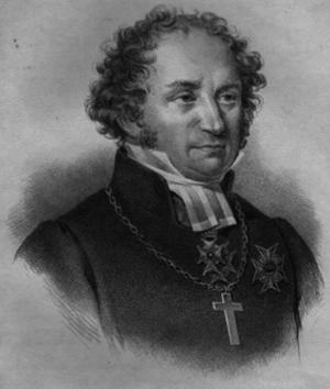Psalmförfattaren Johan Olof Wallin (1779-1839).