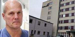 Michael Gårdebäck får lämna sitt uppdrag som chefläkare på Södertälje sjukhus. Bild: Nellie Pilsetnek/Elias Zazi.