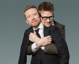 Anders & Måns gästar Falun i mars med sin humorshow