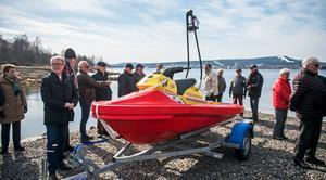 Den nya vattenskotern, rescuerunnern, gör att Sjöräddningssällskapet kommer att kunna undsätta på fler vatten än tidigare.