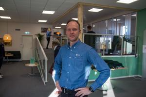 Johan Blomqvist är marknadschef för skogsföretaget SCA.