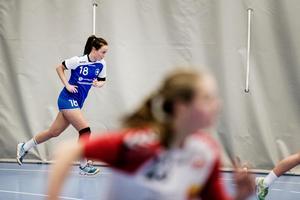 Elitseriemeriterade Hanna Barrögård hade en rolig eftermiddag mot Årsta.