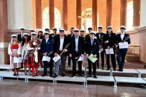 Stipendiater vid Älvdalens utbildningascentrum.