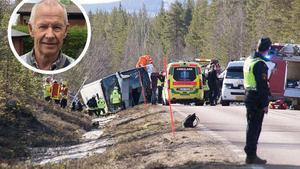 Det var i april 2017 som tre dog och flera skadades i en svår bussolycka utanför Sveg.