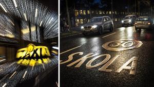 Att köra om på en 30-sträcka precis utanför en skola visar på stor inkompetens, menar skribenten. Bilder: Tomas Oneborg/SvD/TT / Yvonne Åsell/SvD/TT