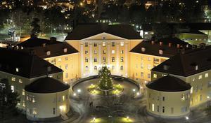 En vacker och pampig byggnad som är räddad till eftervärlden.