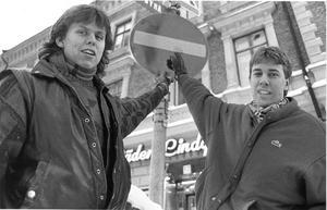 Jonas Heed och Sam Lindståhl. Foto: Anders Andersson