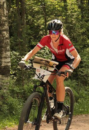 Nadia Larsson vann såväl medel- som långdistansen.Foto: Privat