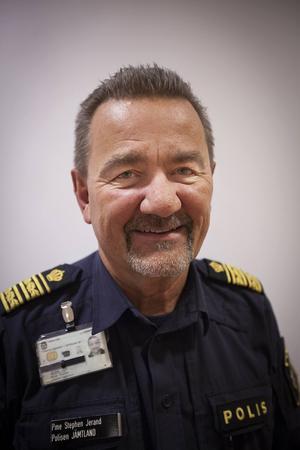Stephen Jerand, polisområdeschef i Jämtland.