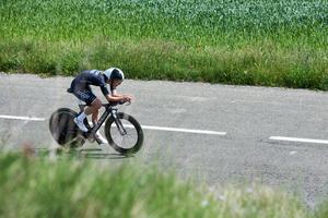 Emilia Fahlin avslutad säsongen – och de fyra åren i brittisk Wiggle-High5-stallet, med ett tempoloppet i Frankrike. Arkivfoto: Sean Robinson/Velofocus.com