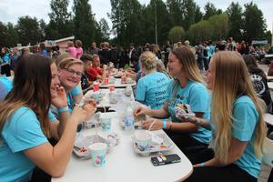 I år blir det inte heller någon Sista natten med gänget på Skara sommarland. Arrangemanget har varit Sveriges största drogfria skolavslutningsfest och kan på grund av pandemin inte genomföras. Bilden kommer från ett tidigare år då arrangemanget kunde genomföras som vanligt.