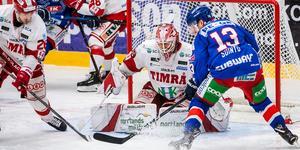 Niklas Svedberg och Timrå IK får ställa in sig på en sjunde avgörande match på måndag. Bild: Suvad Mrkonjic
