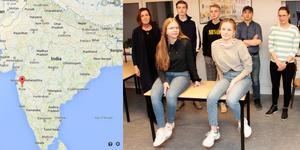 Nu drar Skutskärsungdomarna ihop med två lärare till Indien. Foto: Google/Conny Svensson.