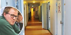 Johan Fallqvist har hotat att våldta kvinnlig personal på Norrtäljeanstalten och uttalats sig olämpligt om hur de ser ut. Foto: Kenneth Hudd/Arkivbild