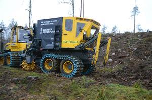 Det som för ett år sedan var en skiss på ett papper, testkörs nu i skogarna i Bergslagen.