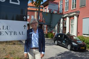 Falu vårdcentral är på väg att utöka lokalytan på Södra Mariegatan från cirka 1 400 kvadratmeter till 1 700. Maria Nyberg hoppas att ombyggnaden av de nya lokalerna är klar i slutet av 2019.