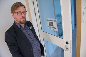 Thomas Edström är förskolechef och tycker att Brittsbos förskola ligger strategiskt till, både nära naturen och med ett upptagningsområde dit allt fler barnfamiljer flyttar.