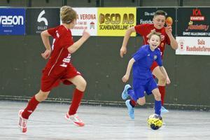 Matchen mellan Norrby SK och Sala FF i klassen P09.