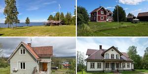 Ett montage på de objekt i Dalarna som fått flest klick under vecka 29. Fler bilder finns nedanför. Foto: Privat, Eva-Mari Rälg, Anders Timfält, Felicia Ahlbin.