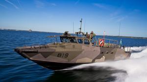 Dockstavarvet och produktionen av stridsbåtar är ett av argumenten kommunerna för fram för att totalförsvaret ska satsa på Ådalen.