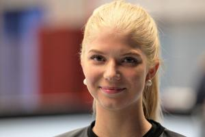 Jonna Sjöberg är äntligen helt frisk och kan njuta av innebandylivet igen.