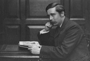 H. G. Wells 1890. Foto:  Frederick Hollyer