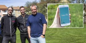 Mattias Sundberg och Mikael Sundberg från Generatorhallen har samarbetet med Marcus Wågström för att utveckla en app åt School's out-besökarna.