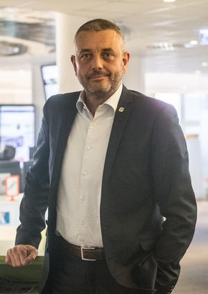 Calle Pauly, ordförande i ÖSK Fotboll.
