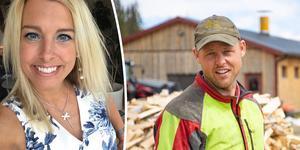 Susanne Bostrand är en av kvinnorna som dejtar Jimmy Olofsson i  Bonde söker fru. Fotomontage: Privat/Fredrik Eliasson