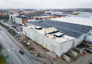 Epiroc är länets ledande industriföretag och har under 2019 påbörjat en utbyggnad av anläggningen i Örebro.