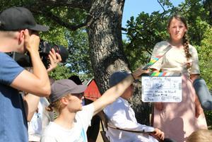 Lova Viklund, som spelar filmens huvudkaraktär