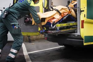 Kommunal ser inte att ambulanssjukvården i privat regi skulle vara en lösning på den eventuella problematik som kan finnas inom ambulansen.  Foto: TT